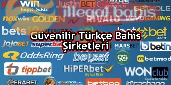 türkçe bahis şirketleri
