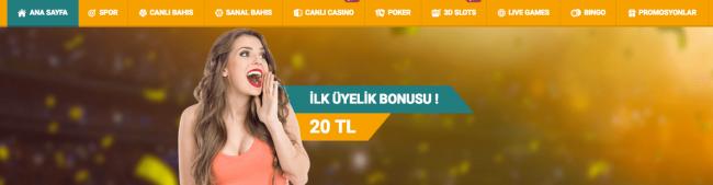 Mariobet 20 TL Bedava Bahis Bonusu