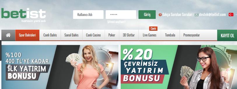 Betist casino yatırım bonusu