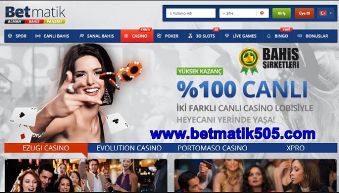 Betmatik Casino seçenekleri