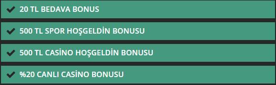 Mariobet Casino bonusları
