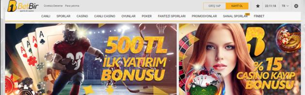 Betbir Casino yatırım bonusu