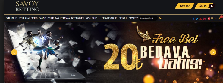 Savoybetting Casino bedava