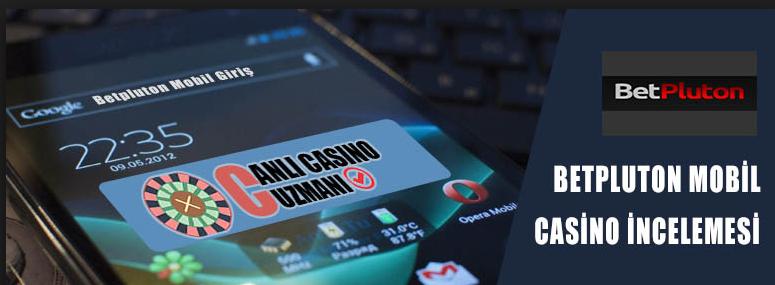 BetPluton Casino Mobil Uygulaması