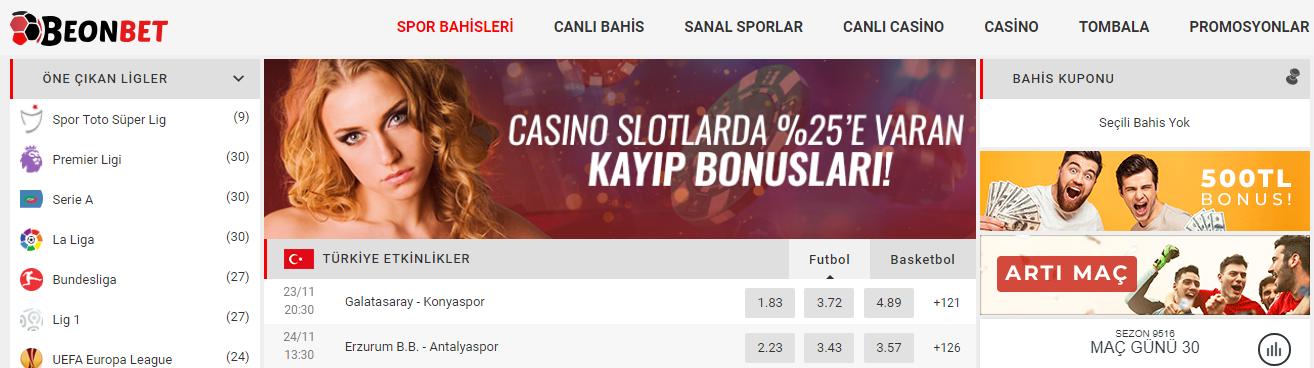 Beonbet casino