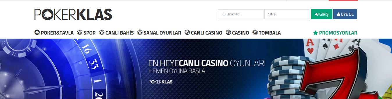 Pokerklas casino