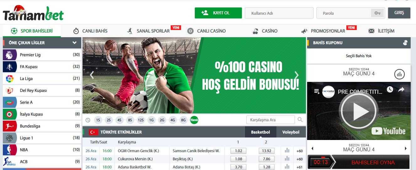 Tamambet Casino