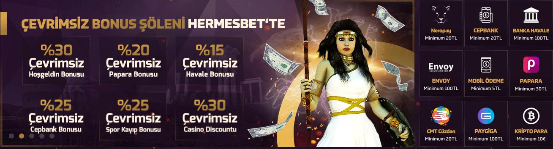 Hermesbet Bonuslar
